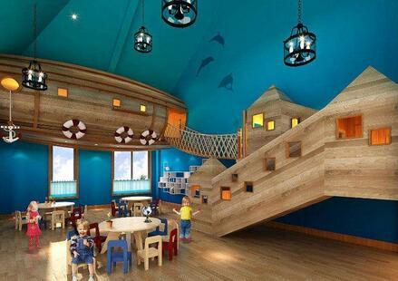 美式的幼儿园设计特点-幼儿园设计