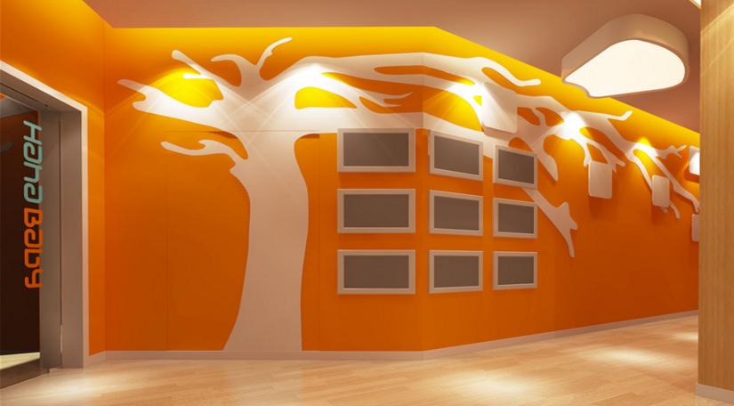 【哈哈贝贝早教俱乐部】装修设计-打造了简约又不失活泼的空间